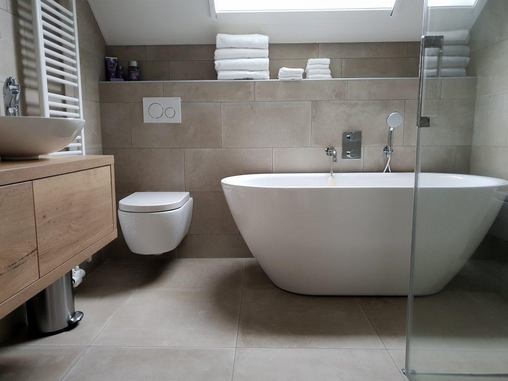 Badkamer in Opeinde