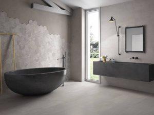 Voorbeeld moderne badkamer