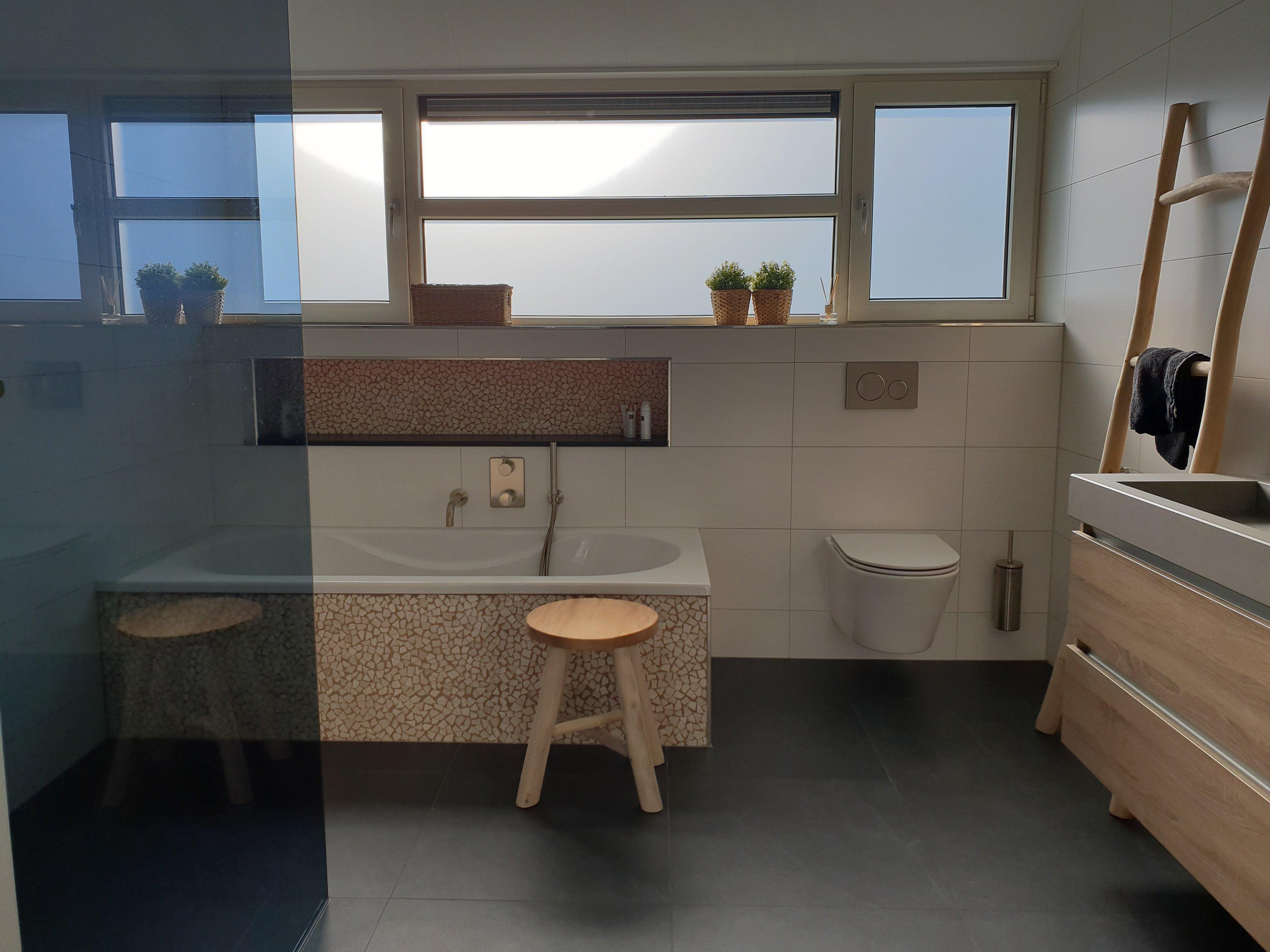 Trendy badkamer in Dokkum (Friesland)