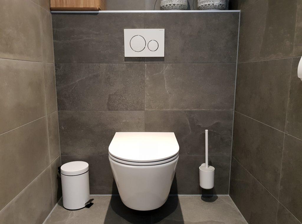 Tegels in de toilet