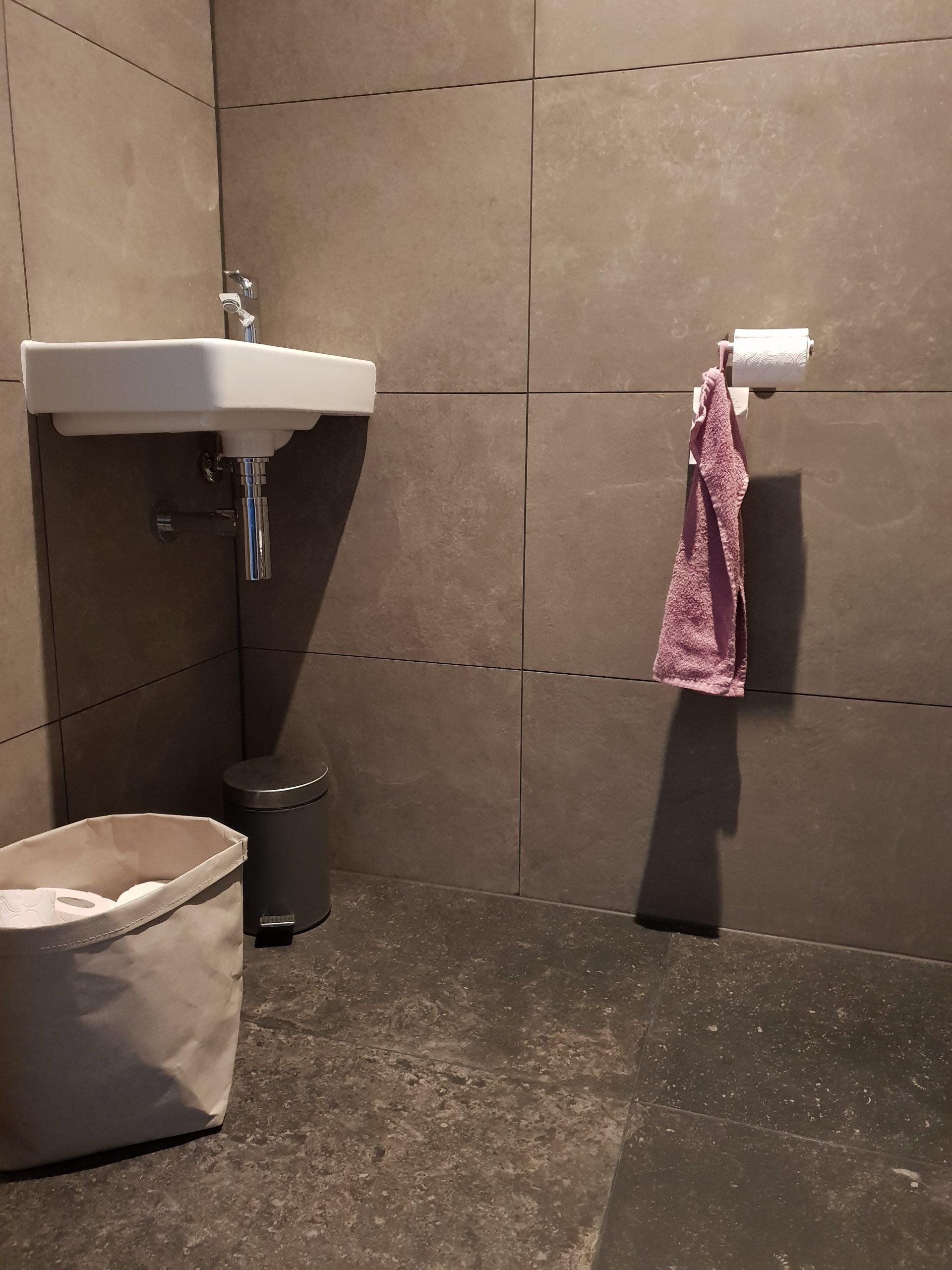 Toiletruimte in Oentsjerk