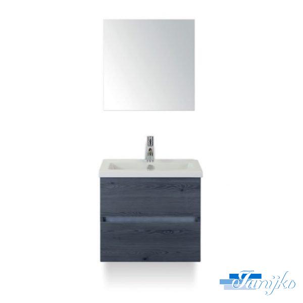 Djazz Lorencio 60 spiegel lariks antraciet