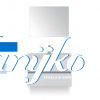 Enjoy Lorencio 80 spiegel wit hoogglans